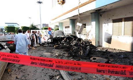 Car-bombing-Tripoli-0812-by-Sabri-Elmhedwi-EPA, Benghazi attack: Libya's Green Resistance did it … and NATO powers are covering up, World News & Views
