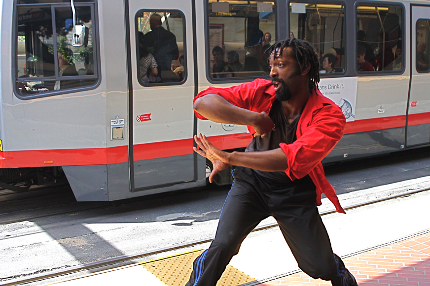 Epiphany+Productions+Sonic+Dance+Theater's+Antoine+Hunter+by+Brenda+Marie+web, San Francisco Trolley Dances 2012 comes to Bayview, Culture Currents