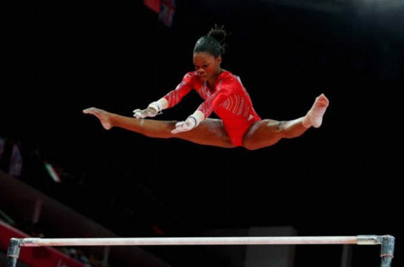 Gabby_Douglas_posted_this_pic_to_FB_0806121, Gold medalist Gabby Douglas speaks out, is smacked down, Culture Currents