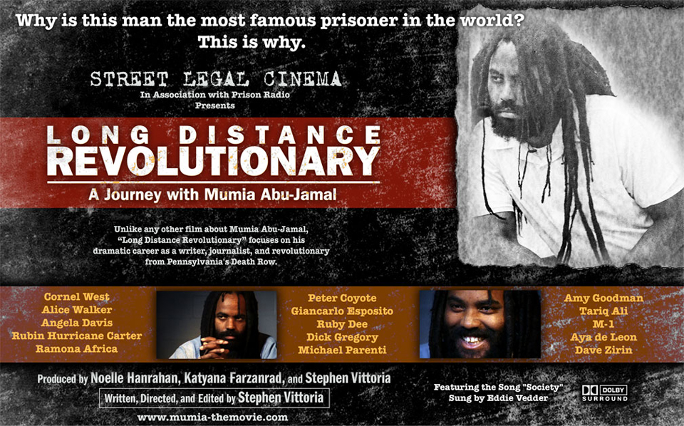 Long_Distance_Revolutionary_Mumia_documentary, Mumia, the long distance revolutionary: an interview wit' documentary producers Stephen Vittoria and Noelle Hanrahan, Culture Currents