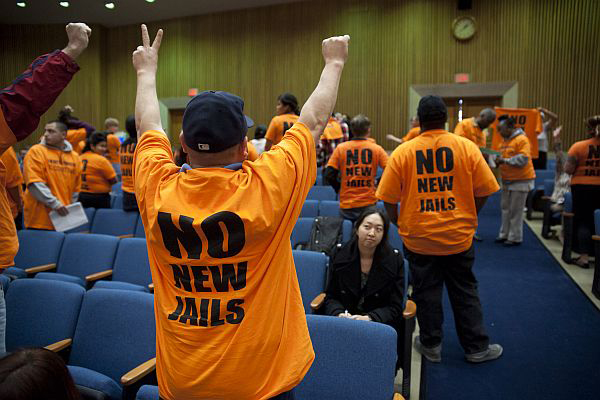 No_new_jails_protest_at_LA_Board_of_Supes_meeting_012412_by_David_Crane_Contra_Costa_Times_web, No new jails! Californians fight on a year after realignment, National News & Views