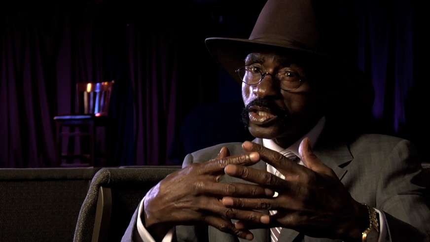 Rubin_Hurricane_Carter_in_Mumia_film_Long_Distance_Revolutionary, Mumia, the long distance revolutionary: an interview wit' documentary producers Stephen Vittoria and Noelle Hanrahan, Culture Currents