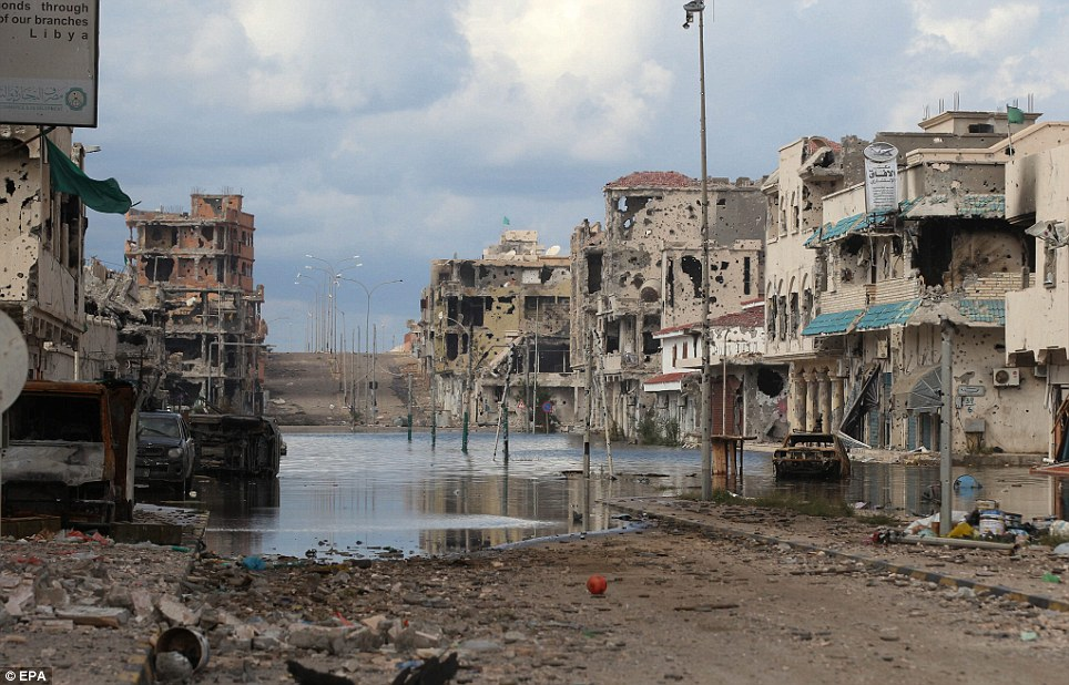 Sirte-Libya-destroyed-1011-by-EPA, Benghazi attack: Libya's Green Resistance did it … and NATO powers are covering up, World News & Views