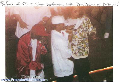 William_E._Brown_aka_rapper_Pyeface_performing_with_Dru_Down_in_V-Town, Revenge vs. a Kage Brother's tolerance, Behind Enemy Lines