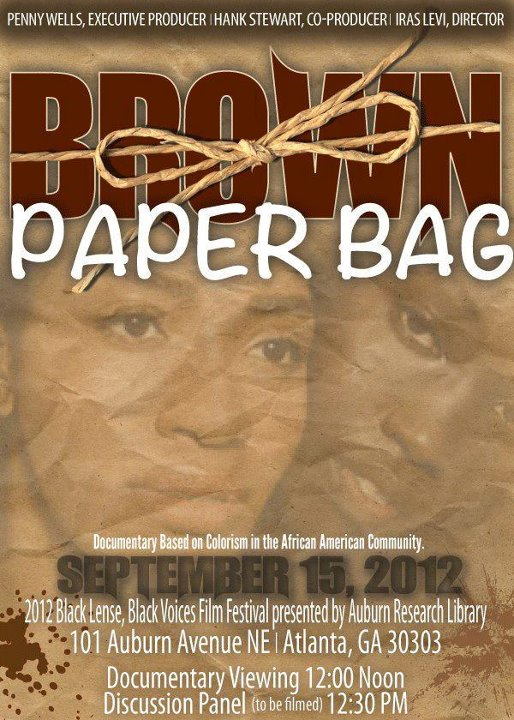 Brown_Paper_Bag_play_ad, Good hair and fair skin vs. Gabby Douglas, Michelle Obama and Essence Magazine, Culture Currents