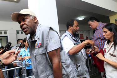 Danny-Glover-interviewed-as-international-accompanier-during-Venezuela-election-100712-by-Venezuelan-Embassy, Victory for Chávez is a victory for Latin America, World News & Views