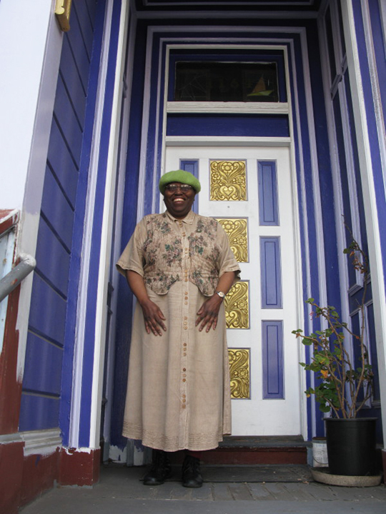 Kathryn-Galves-in-front-of-foreclosed-home-0312, From foreclosure to homelessness, Local News & Views