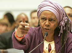 Mama_D_Dyan_French_testifies_at_Katrina_hearing_requested_by_Rep._Cynthia_McKinney_120605_by_AP, Cynthia McKinney on leadership, National News & Views