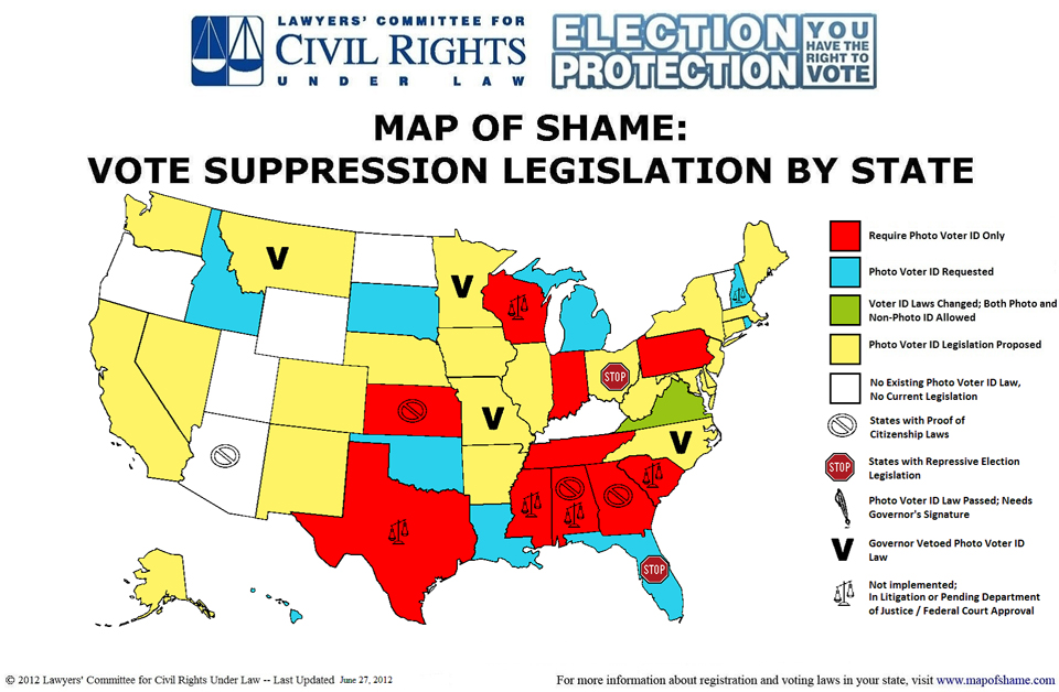 Map_of_Shame_Vote_Suppression_Legislation_by_State_web, Mapping the war on the right to vote, National News & Views