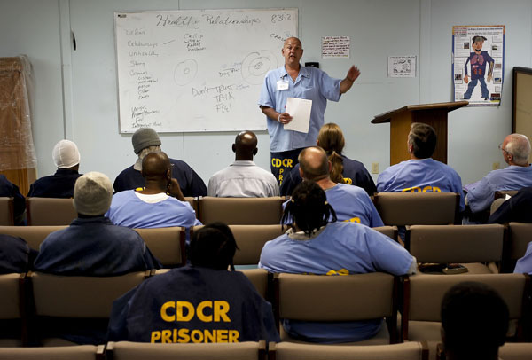 drug recovery wings in prison