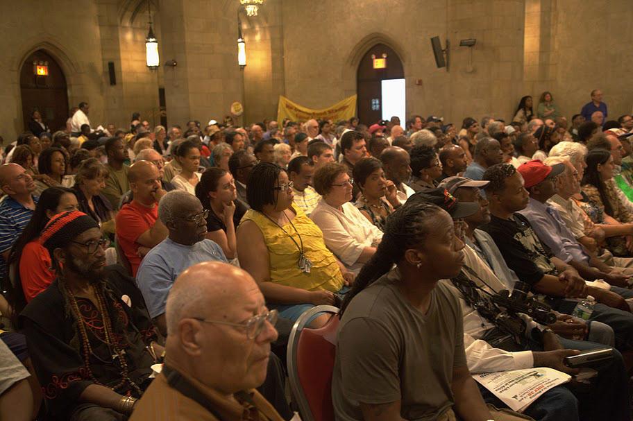Riverside_Church_packed_for_Cynthia_McKinney_on_Libya_093011, Cynthia McKinney on leadership, National News & Views