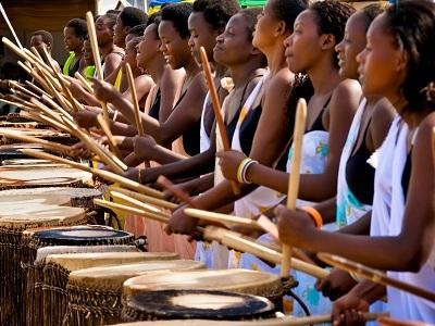 Rwandan-women-drummers-in-Sweet-Dreams, Wanda's Picks for October 2012, Culture Currents
