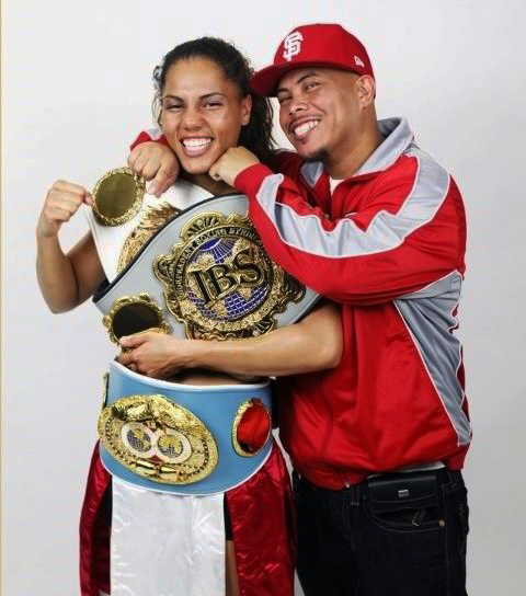 Ava-Knight-Coach-Ben-Bautista, Women boxers rise worldwide: an interview wit' flyweight champion Ava Knight, Culture Currents