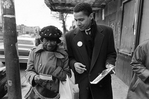 Barack-Obama-headed-Project-Vote-in-Chicago-1992, Mr. President, three wishes of a Black American, National News & Views