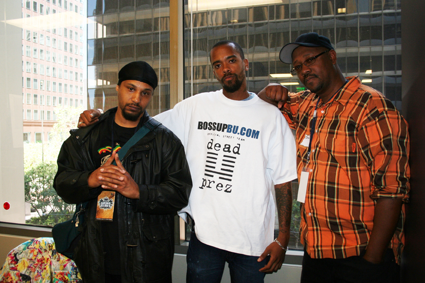 DJ-X1-Stic.man-Davey-D-2007-by-JR-web, Terry Collins and Willie Ratcliff, the OGs of KPOO and the Bay View, discuss life and Black Media Appreciation Night, Local News & Views