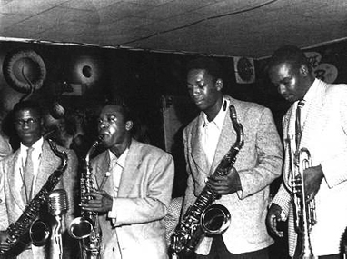 Fillmore-in-50s-John-Handy-Pony-Poindexter-John-Coltrane-Frank-Fischer-at-Bop-City-by-Steve-Jackson-web, A Love Supreme: an interview with 'Spirit Seeker' author Gary Golio, Culture Currents