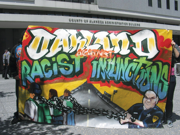 gang injunctions After an expensive legal fight and questionable results, oakland's controversial gang injunctions — restricting the movements of more than four dozen men — are being dropped, the city attorney confirmed late thursday.