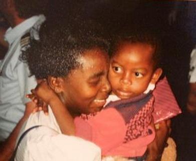 Victoire-Ingabire-baby-daughter-Raissa, Victoire Ingabire's family faces her prison sentence in Rwanda, World News & Views