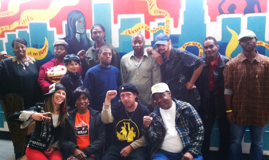 Voices-in-Poverty-Resist-Workshop-POOR-LA-CAN-group-shot-by-Vivian-Thorp-PNN1, Sleeping on the street, National News & Views