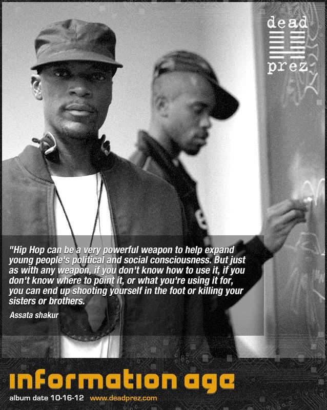 dead-prez-Information-Age-album-promo, 'Information Age': an interview wit' M1 of the revolutionary rap group dead prez, Culture Currents