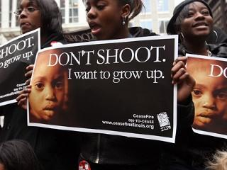 Black-girls-Dont-shoot.-I-want-to-grow-up-0612-Chicago, From slavery to suicide, World News & Views