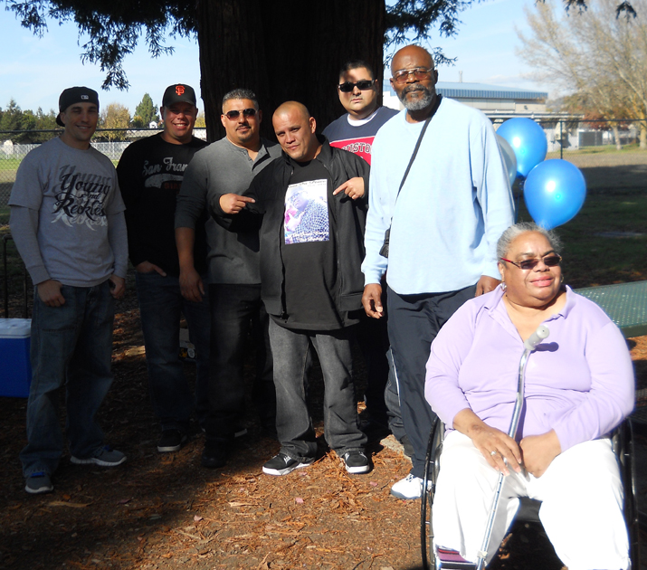 Memorial-for-Fremont-PD-victim-DeJuan-Eaton-37-in-old-gathering-place-Rohnert-Park-Morris-Phyllis-Turner-at-rt-1111, Deadly force the 'only' option?, Local News & Views