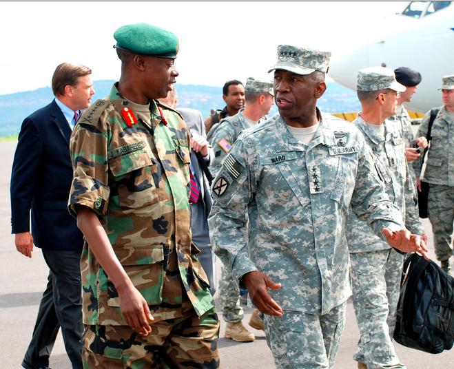 Rwandan-Defense-Minister-James-Kabarebe-AFRICOMs-first-commander-Gen.-William-'Kip'-Ward-0409, Vietnam, Afghanistan, Somalia ... Congo? The DRC?, World News & Views
