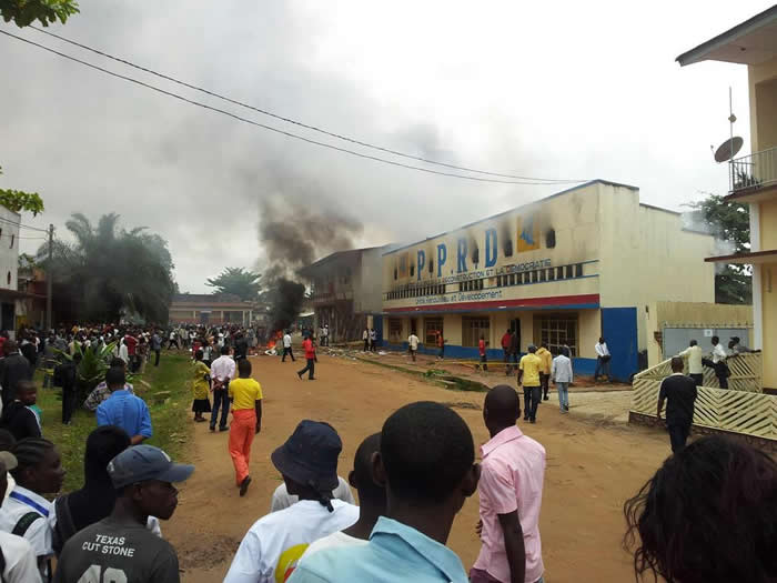 Youth-protest-KabilaGÇÖs-party-HQ-burns-in-Kisangani-as-nearby-Goma-falls-to-M23-1120121, Six million dead since 1996? It's time to break the silence on the Congo War, World News & Views