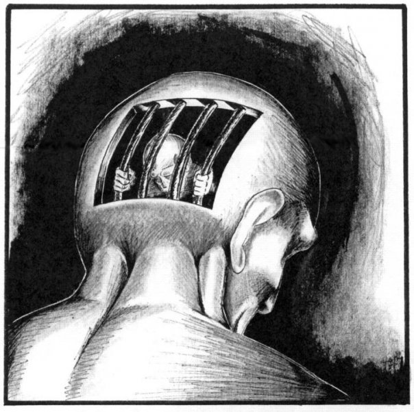 Solitary-Confinement-by-Stan-Moody, Invisible bodies, Behind Enemy Lines