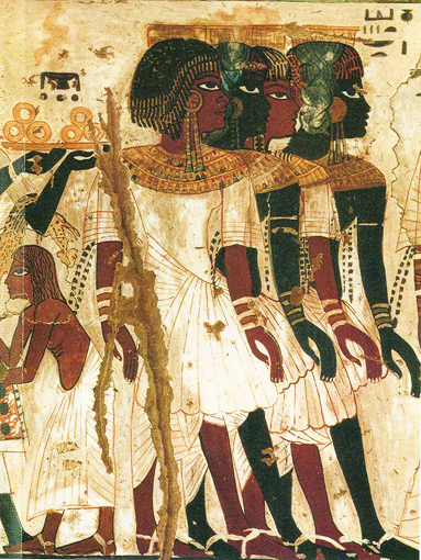 Tomb-painting-of-Kushite-princes-Sudan-threatened-by-dams, Wanda's Picks for January 2013, Culture Currents
