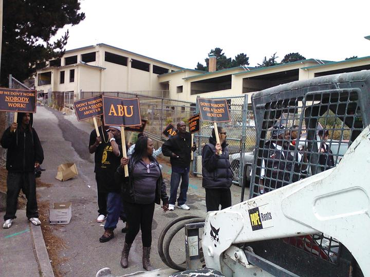 ABU-protest-Willie-Brown-Academy-082112-courtesy-ABU-web, SF School District blocks Blacks from rebuilding school, Local News & Views