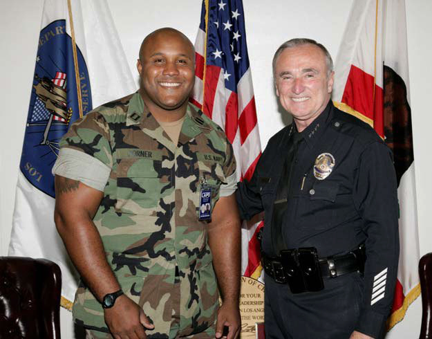 Christopher Dorner, Chief William Bratton