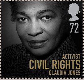 Claudia-Jones-stamp-UK, Claudia Jones: African-Caribbean Communist defied racism, sexism and class oppression, Culture Currents