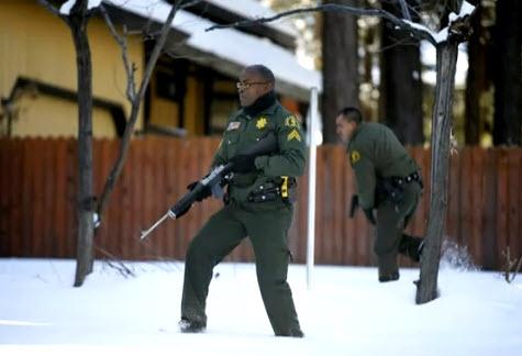 Deputies hunting Christopher Dorner approach cabin 021313