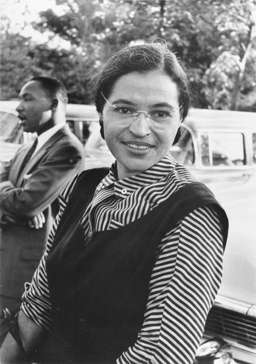 Martin Luther King, Rosa Parks 1955