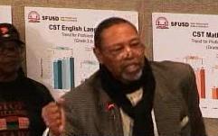 SF-School-Board-Robert-Woods-Cati-Okorie-Black-Human-Rights-Leadership-Council-012913-by-SFGovTV, SF School District blocks Blacks from rebuilding school, Local News & Views