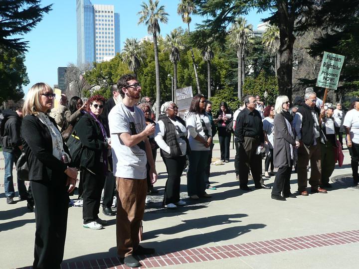 Assembly-hearing-on-SHUs-rally-crowd-022513-by-Urszula-Wislanka, Sacramento hearing exposes CDCR's hidden agenda, Behind Enemy Lines