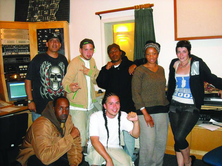 Free Wheelin' Franklin, Sinista Z, G1 of Rebel Diaz, JR, Rod Starz, Deanna, Holly Works at KPFA Oscar Grant special 0608