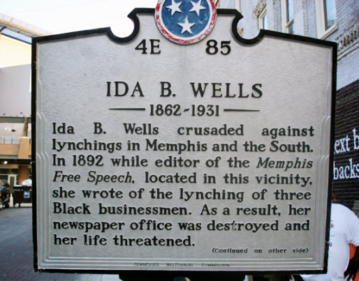 ida b wells essay Ida b wells-barnett 11 levels of learning all the wells children attended the school sometimes their mother would also attend classes to learn to read.