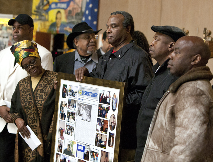 Memorial for Leo Robinson, ILWU