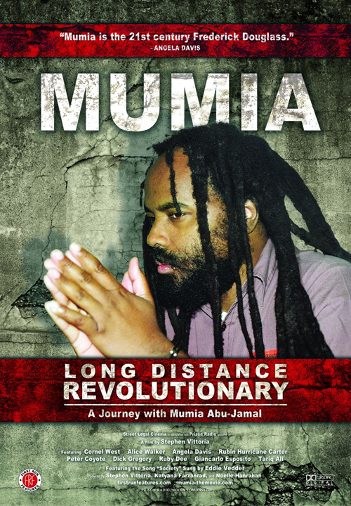'Mumia Long Distance Revolutionary' movie poster, web
