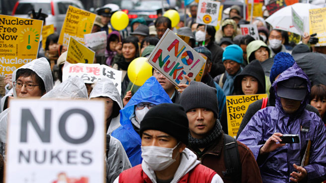 No-nukes-march-Japan-by-Reuters, Fukushima two years later: Basic guide, World News & Views