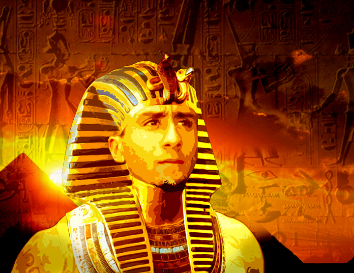 'Pharoah Quarterback Colin Kaepernick' by Jason Pezant, web
