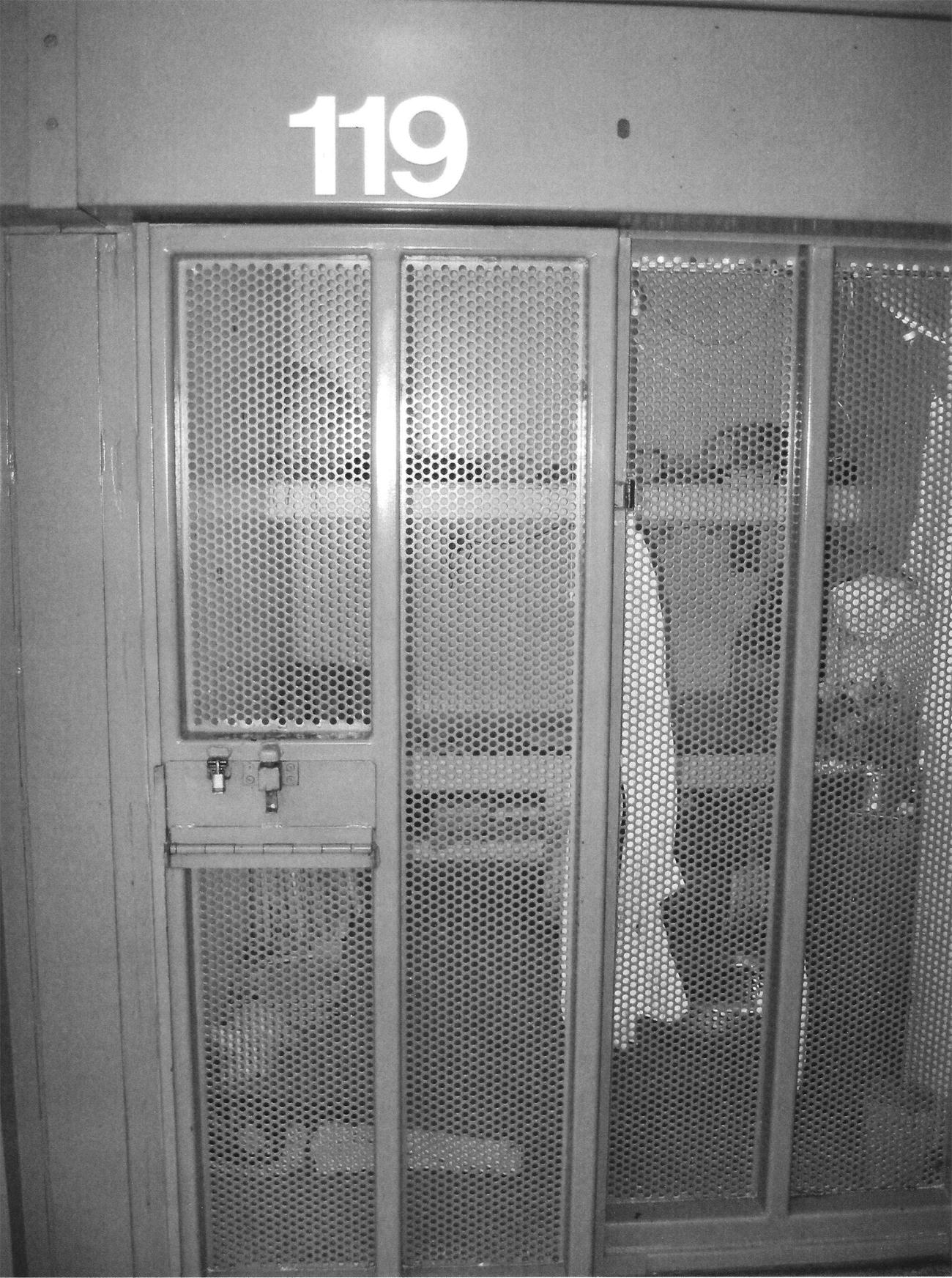 Todd Ashker's cell PBSP SHU-1 outside front 0707, web
