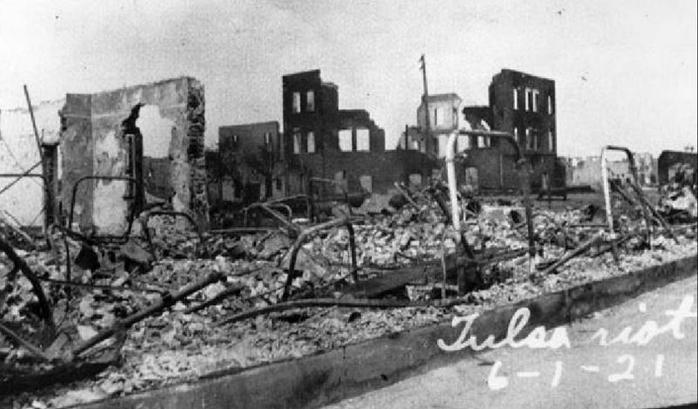 Tulsa Race Riot, Black Wall Street destroyed 060121
