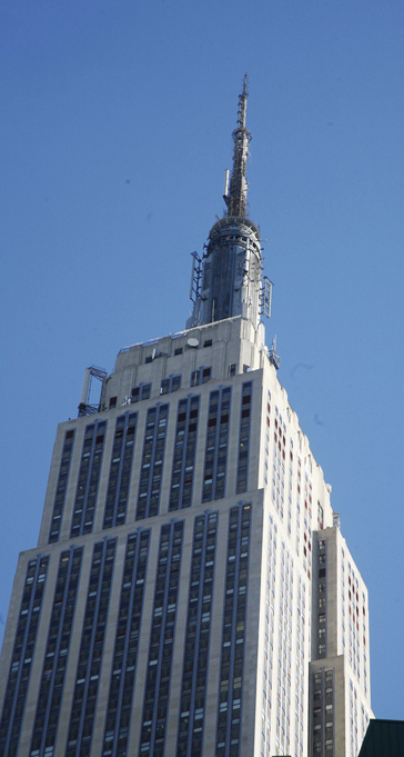 WBAI tower on Empire State Building by Doc Searles