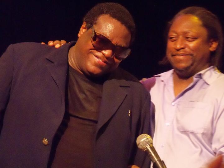 Wallace Roney, trumpet, with Darryl Jones, bass Yoshi's Oakland 031213 by Wanda