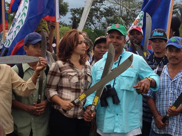 Wil Maheia, Belize Territorial Volunteers