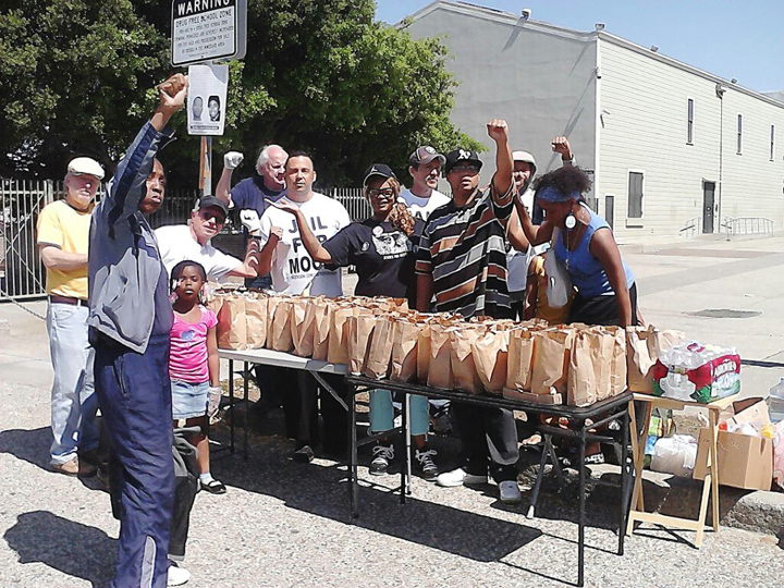 Community Feed at Kenny's Korner every 3rd Sat food & crew 042113