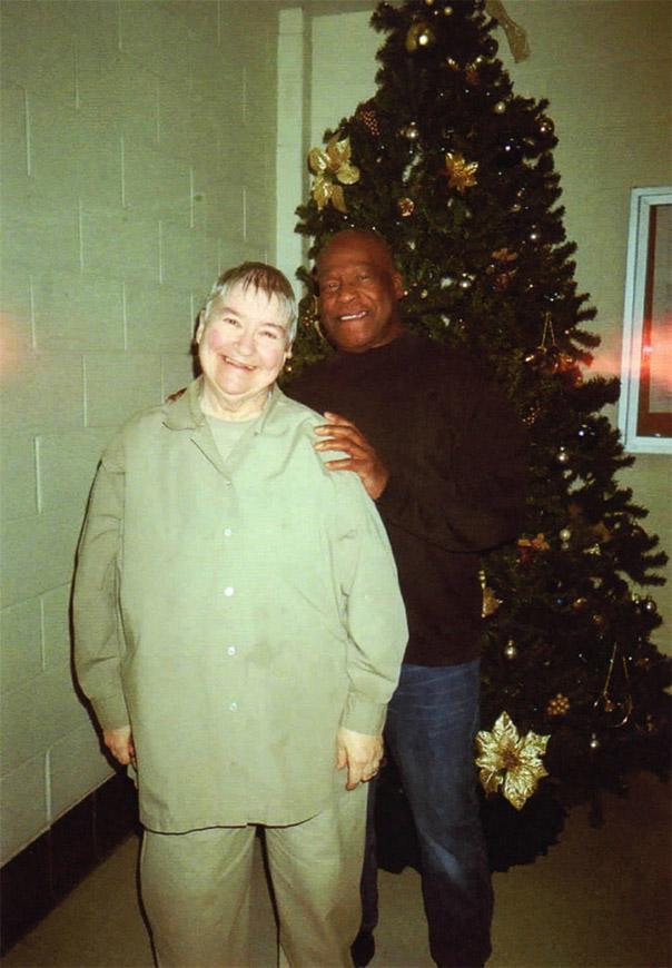 Lynne Stewart, Ralph Poynter visit 010112